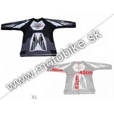 Dres VT07 BLACK XL-malý (detský)