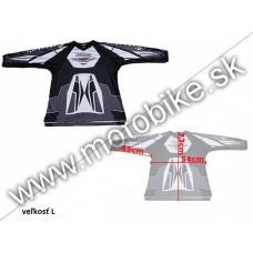 Dres VT07 BLACK L-veľký