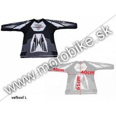 Dres VT07 BLACK L-malý (detský)
