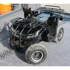 """ATV 125 čierná 1+1 s alarmom na 7"""" kolesách"""