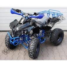 """ATV 125 BOMBARDÉR modrá 3+1 s alarmom na 8"""" kolesách"""
