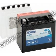 Akumulator  EXIDE ETX14AL-BS 12V 12AH 210A