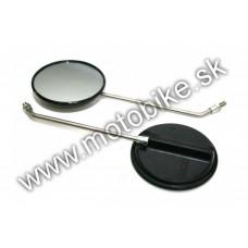 Zrkadlo na SIMSON Ø120mm M8 pár chrómované MZA