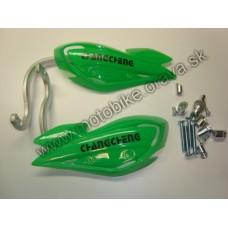 Chrániče rúk  plast + ALU výstuha CC-PC-353 zelene